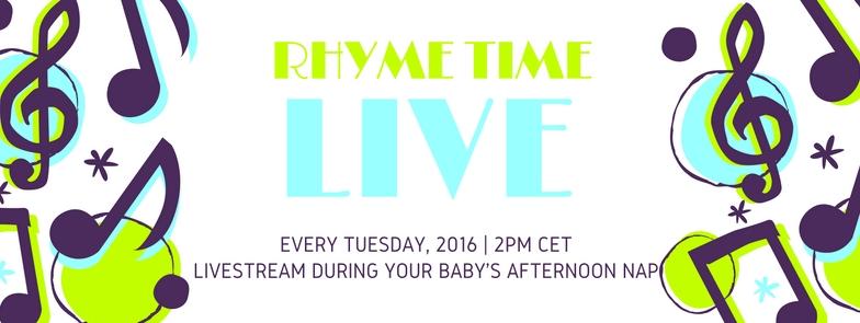 Rhyme Time LIVE adások anyagai – LETÖLTHETŐ