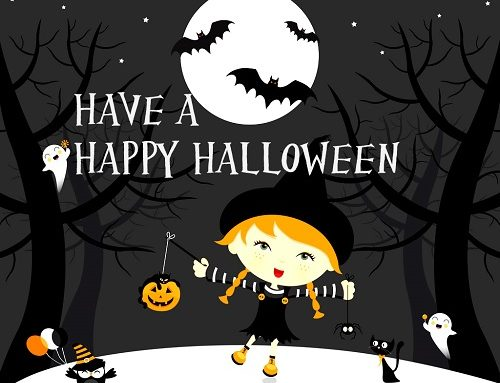 Rhyme Time Halloween – Hello my friends (Veronika)
