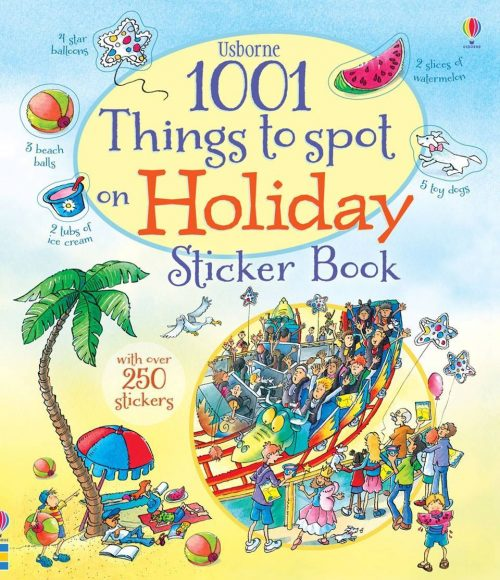 1001 things to spot sticker books